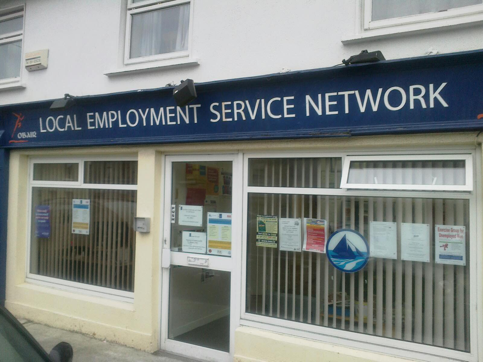 obair  local employment service network