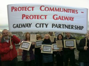 Galway City Partnership (GCP) Staff Protest 005