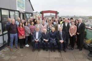 President Higgins visiting Galway City Partnership