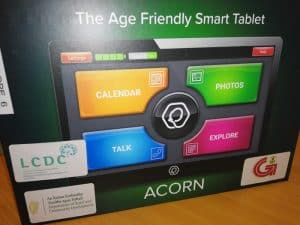 Acorn Tablets funded by Department of Community and Rural Development and Galway City Council