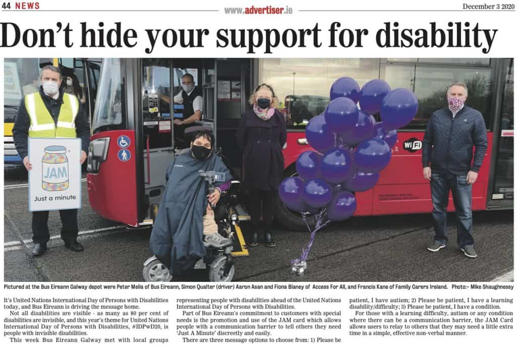 Don't Hide Your Support for Disability